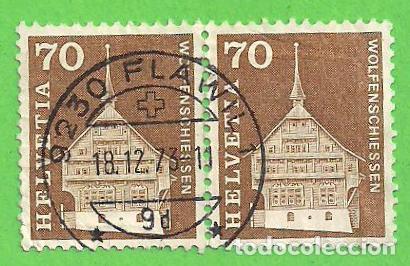 SUIZA - MICHEL 862 - YVERT 795 - MOTIVOS Y MONUMENTOS DE LA HISTORIA POSTAL. (1967). (Sellos - Extranjero - Europa - Suiza)