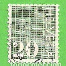 Sellos: SUIZA - MICHEL 934 - YVERT 862 - CIFRAS. (1970).. Lote 66943762