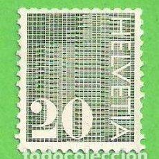 Sellos: SUIZA - MICHEL 934 - YVERT 862 - CIFRAS. (1970).. Lote 66943854