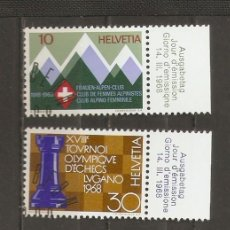 Sellos: SUIZA.1968. YV Nº 803,804,805,806.. Lote 69741685