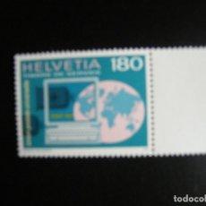 Sellos: SUIZA (UPU). SERIE COMPLETA. NUEVA MNH**. YVERT Nº 470. 1995.. Lote 212742186