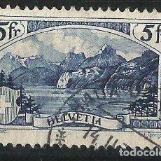 Sellos: SUIZA 1928 TIPO N REGRABADO USADO. Lote 70031837