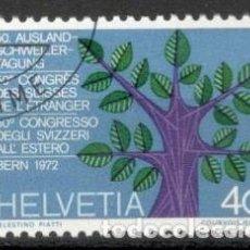 Sellos: SUIZA, 1972.CONMEMORATIVO . USADOS. Lote 70163298