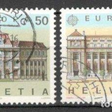 Sellos: SUIZA, 1990.EUROPA. USADOS. Lote 70163826