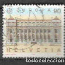 Sellos: SUIZA, 1990.EUROPA. USADOS. Lote 70163834