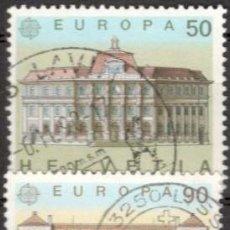 Sellos: SUIZA, 1990. EUROPA. USADOS. Lote 70163914