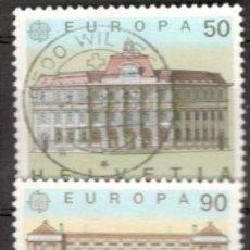 Sellos: SUIZA, 1990. EUROPA. USADOS. Lote 70163918