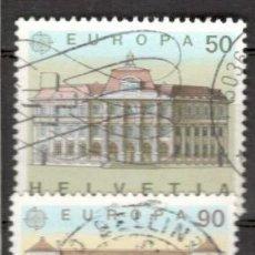 Sellos: SUIZA, 1990. EUROPA. USADOS. Lote 70163926