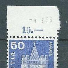 Stamps - Suiza,Suisse,Helvetia,Switzerland,1963,Serie general,MNH** - 70594902