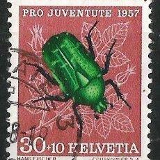 Sellos: SUIZA 1957 PRO JUVENTUD . Lote 71827839