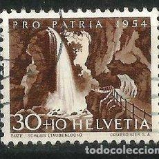 Sellos: SUIZA 1954 PRO PATRIA. Lote 71833743