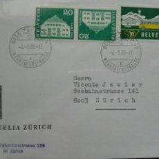 Sellos: SUIZA FILATELIA ZURICH. Lote 73795551