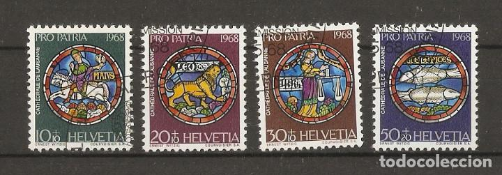 SUIZA.1968. YV Nº 807/810 (Sellos - Extranjero - Europa - Suiza)