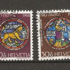 Sellos: SUIZA.1968. YV Nº 807/810. Lote 74325411