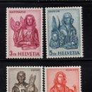 Sellos: SUIZA 660C/60F** - AÑO 1960 - LOS CUATRO EVANGELISTAS. Lote 78198265