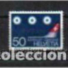 Sellos: AVIACIÓN. AEROPUERTO DE GINEBRA, SUIZA, SELLO DEL AÑO 1968. Lote 79592537