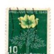 Sellos: SUIZA 1949 HELVETIA Nº 536. Lote 80211121