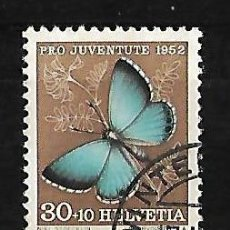 Sellos: SUIZA 1952 PRO JUVENTUD . Lote 83463992