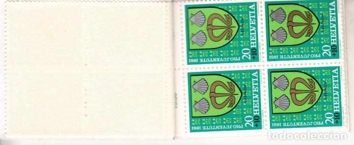 Sellos: suiza 1139c carnet, pro-juventud, escudos, - Foto 3 - 21806223