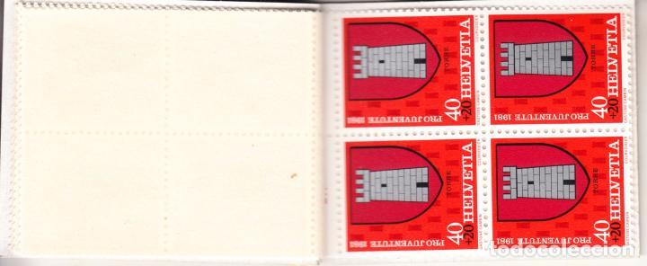 Sellos: suiza 1139c carnet, pro-juventud, escudos, - Foto 4 - 21806223