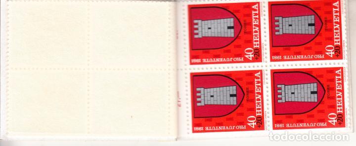 Sellos: suiza 1139c carnet, pro-juventud, escudos, - Foto 5 - 21806223