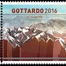 Sellos: SUIZA 2016 GOTTARDO 2016 FERROCARRIL. Lote 87036320