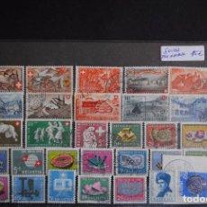 Sellos: SUIZA - 1910 - 1960 VARIOS LOTES DE SELLOS USADOS. Lote 88911448