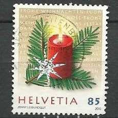 Timbres: YT 2109 SUIZA 2010. Lote 181335885