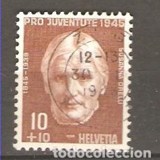 Sellos: YT 424 SUIZA 1945. Lote 115389955
