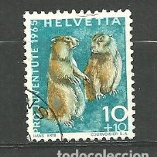 Sellos: YT 760 SUIZA 1965. Lote 94758850