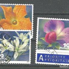 Timbres: YT 2120-22 SUIZA 2010. Lote 126255455