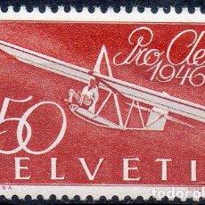 Sellos: SUIZA AÑO 1946 YV A 40*** PRO AEREO - AVIONES - TRANSPORTES. Lote 93716915