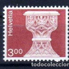 Sellos: SUIZA 1979 - ARQUITECTURA Y ARTESANIA - YVERT 1090 NUEVO ** MNH. Lote 95614183