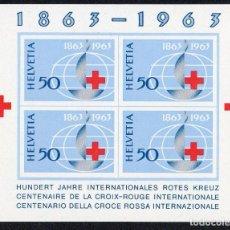 Sellos: SUIZA AÑO 1963 YV HB 19*** CENTº DE LA CRUZ ROJA INTERNACIONAL - MEDICINA - SALUD . Lote 98969683
