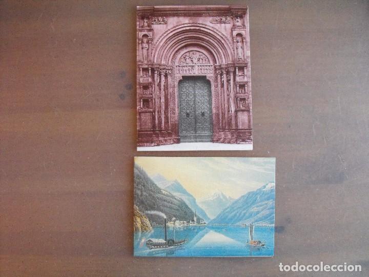 Sellos: Suiza. Lote con enteropostales, sobre primer día, ediciones conmemorativas. Ver fotos. - Foto 5 - 99227459