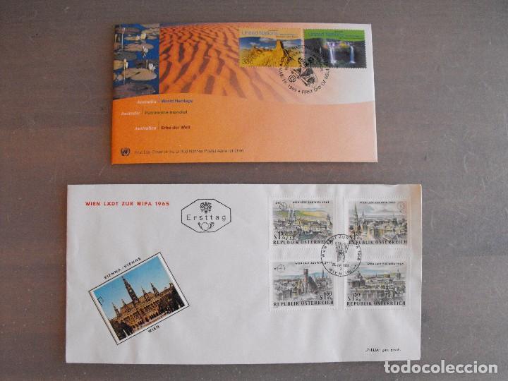 Sellos: Suiza. Lote con enteropostales, sobre primer día, ediciones conmemorativas. Ver fotos. - Foto 18 - 99227459