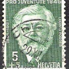 Sellos: SUIZA 1945 - USADO. Lote 103128887