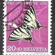 Sellos: SUIZA 1951 - USADO. Lote 103129491