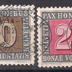 Sellos: SUIZA 1945 - USADO. Lote 103182003