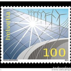 Sellos: SUIZA 2014 ENERGIA RENOVABLE. Lote 103771803