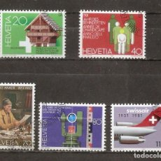 Sellos: SUIZA.1981. YV. Nº 1121 A 1125. Lote 103771871