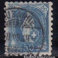Sellos: SUIZA , 1882 - 1904 YVERT Nº 84 , DENTADO ½. Lote 105665363