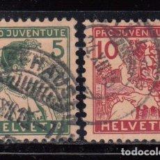 Sellos: SUIZA , 1915 YVERT Nº 149 / 150 . Lote 105665691