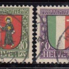 Sellos: SUIZA , 1923 YVERT Nº 192 / 195. Lote 105666367
