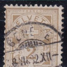 Sellos: SUIZA , 1882 YVERT Nº 58. Lote 105667199