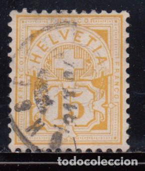 SUIZA , 1882 YVERT Nº 62 (Sellos - Extranjero - Europa - Suiza)