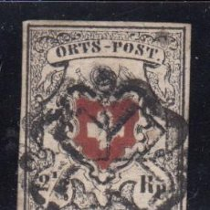 Sellos: SUIZA , 1850 YVERT Nº 13. Lote 105667683
