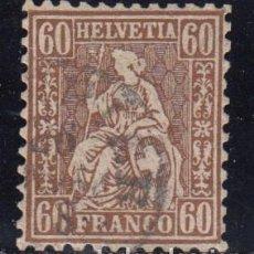 Sellos: SUIZA , 1862 YVERT Nº 40 . Lote 105668279