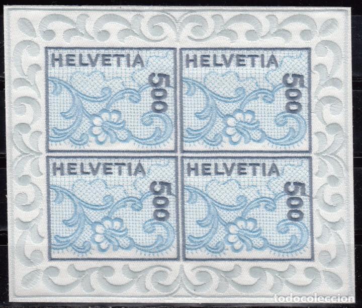 SUIZA , 2000 YVERT Nº 1654 A , ST. GALLEN BORDADO (Sellos - Extranjero - Europa - Suiza)