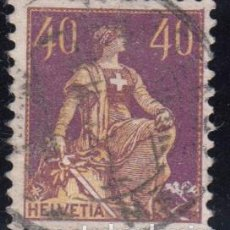 Sellos: SUIZA , 1907 - 1917 YVERT Nº 123 A , TIPO II. Lote 105678315